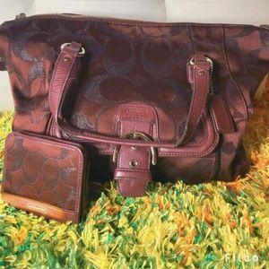 Coach Campbell Carryall Handbag Purse